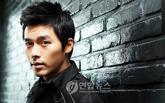 hyun bin short hair