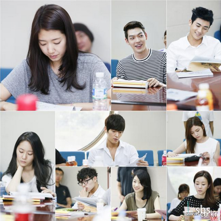 the heirs script reading 2